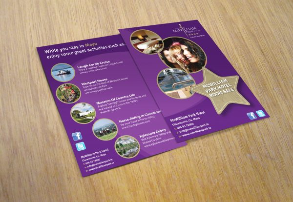 mc_william_park_hotel_flyer_design_leaflet_design_west_of_ireland_mayo