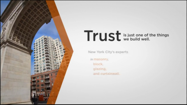 HDK Construction, Manhattan, New York, Usa Motion Graphic Video